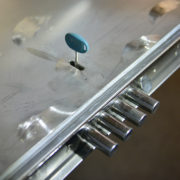 Fabrication d'une porte blindée