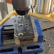 Usinage d'une câle en acier
