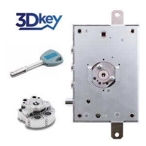 Cylindre à clé 3Dkey